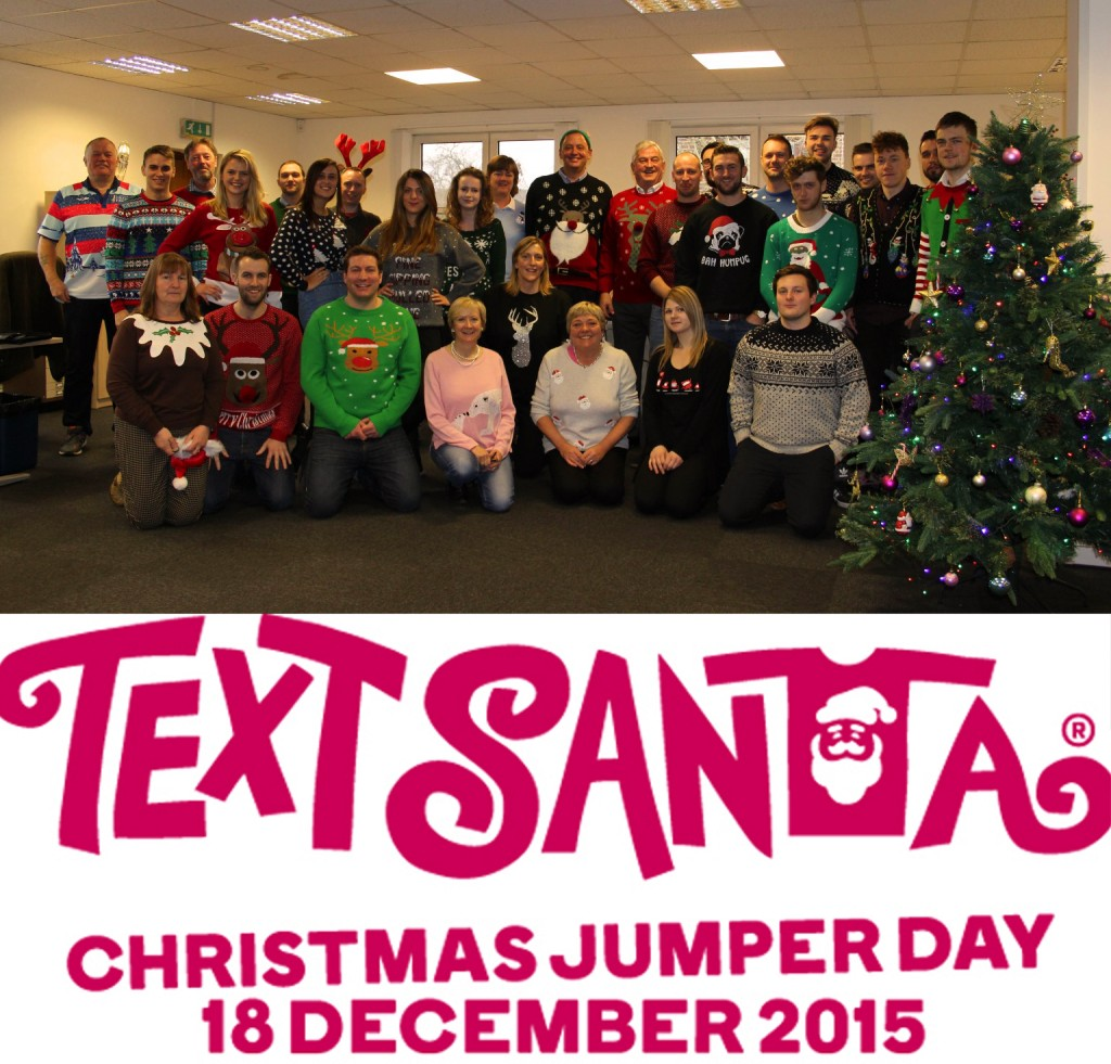 whole company christmas jumper
